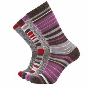 EnerWear 4 Pairs Merino Wool unisex Socks